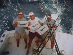 Marlin fishing on Providenciales Turks and Caicos Islands