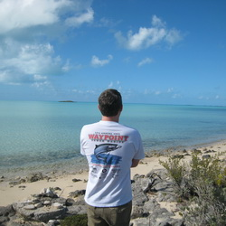 Providenciales bonefishing in the Turks and Caicos Islands
