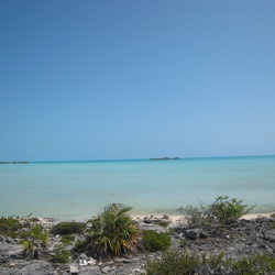 Bonefishing flats on the south side of Providenciales
